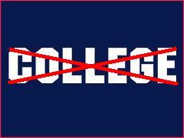 no college